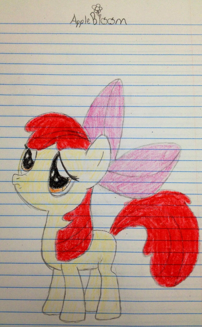 Little apple bloom by SweetStrokesStudios