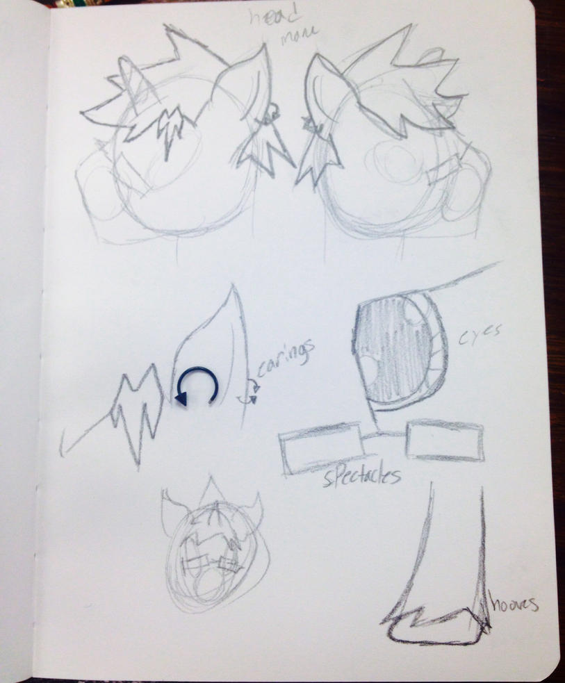 Sweetstrokes base sketches by SweetStrokesStudios