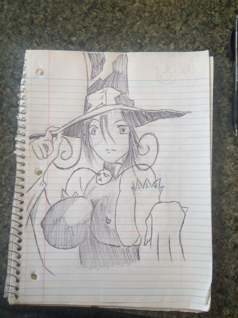 Witch Blair by SweetStrokesStudios