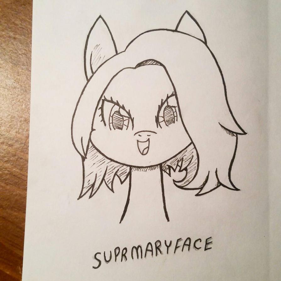 supermaryface by SweetStrokesStudios