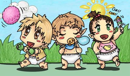 Baby foresters. by Chunchuflur-saga