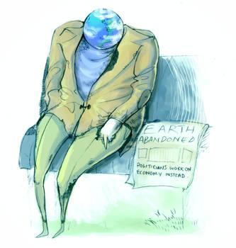 Abandoned Earth - Politics Magazine by VauxhaulAstra