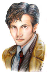 Doctor Whom ..? David Tennant by VauxhaulAstra