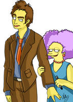 Woo Who DoctorWho Simpsons by VauxhaulAstra