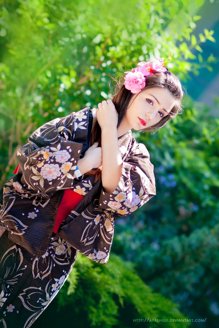 Camellia Girl by ayashige