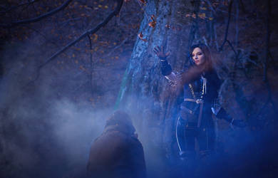 Witcher 3 - Necromancy by ayashige