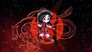 Mulan Red Lantern