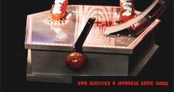 sam survives a japanese game.. by geyl