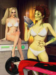 Harley and Ivy: Laundry Day