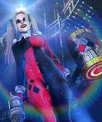 Harley Quinn // Game Over by Zulubean