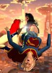 Supergirl vs Wonder Woman (Part 3 of 4)