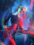 Harley Quinn // Welcome to Gotham by Zulubean