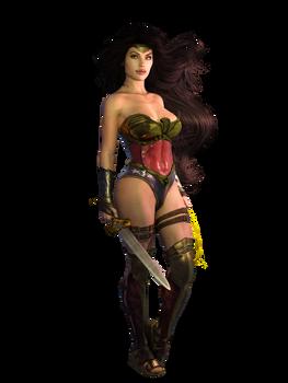 Wonder Woman (Zuluverse) Free Large PNG