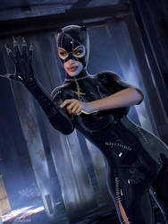 Catwoman // Getting Ready For A Night Out by Zulubean