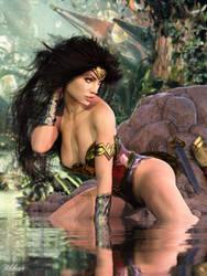 Wonder Woman's World II by Zulubean