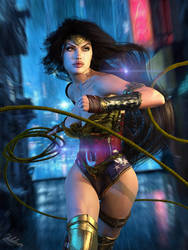 Wonder Woman / The Lasso of Truth by Zulubean