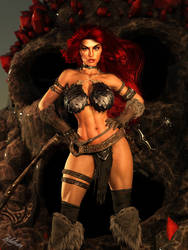 Red Sonja // She Devil With A Sword by Zulubean