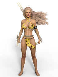 Jungle Girl PNG Pack