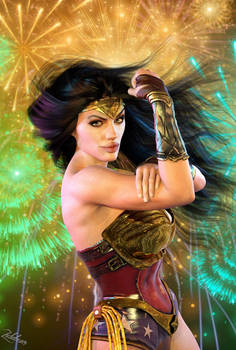 Wonder Woman: We Can Do It!