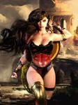 Princess of The Amazons // Wonder Woman by Zulubean