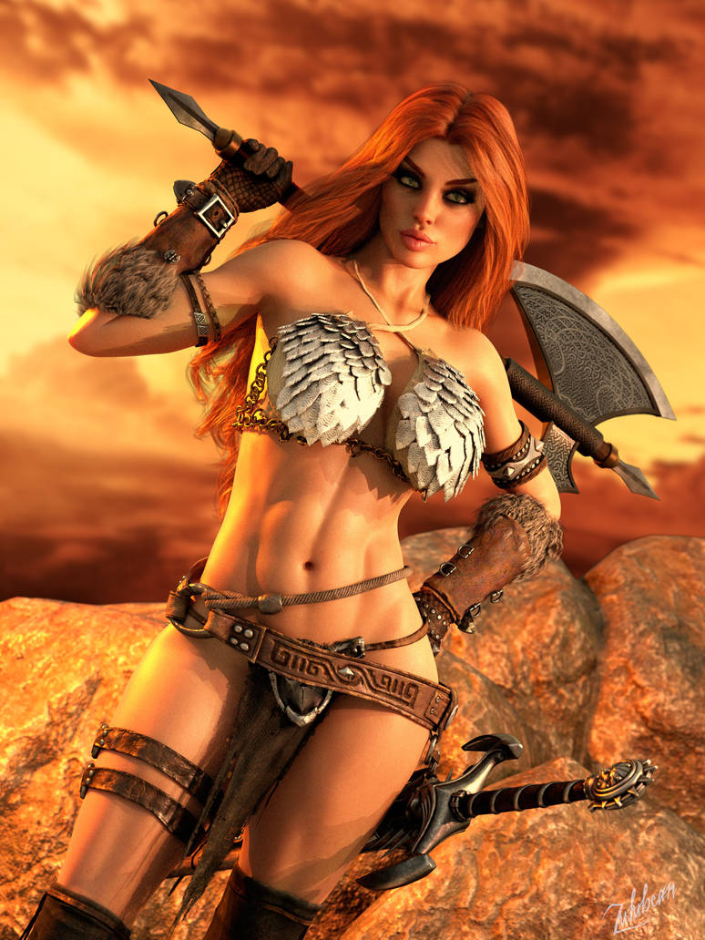 Red Sonja: She-Devil with a Sword II