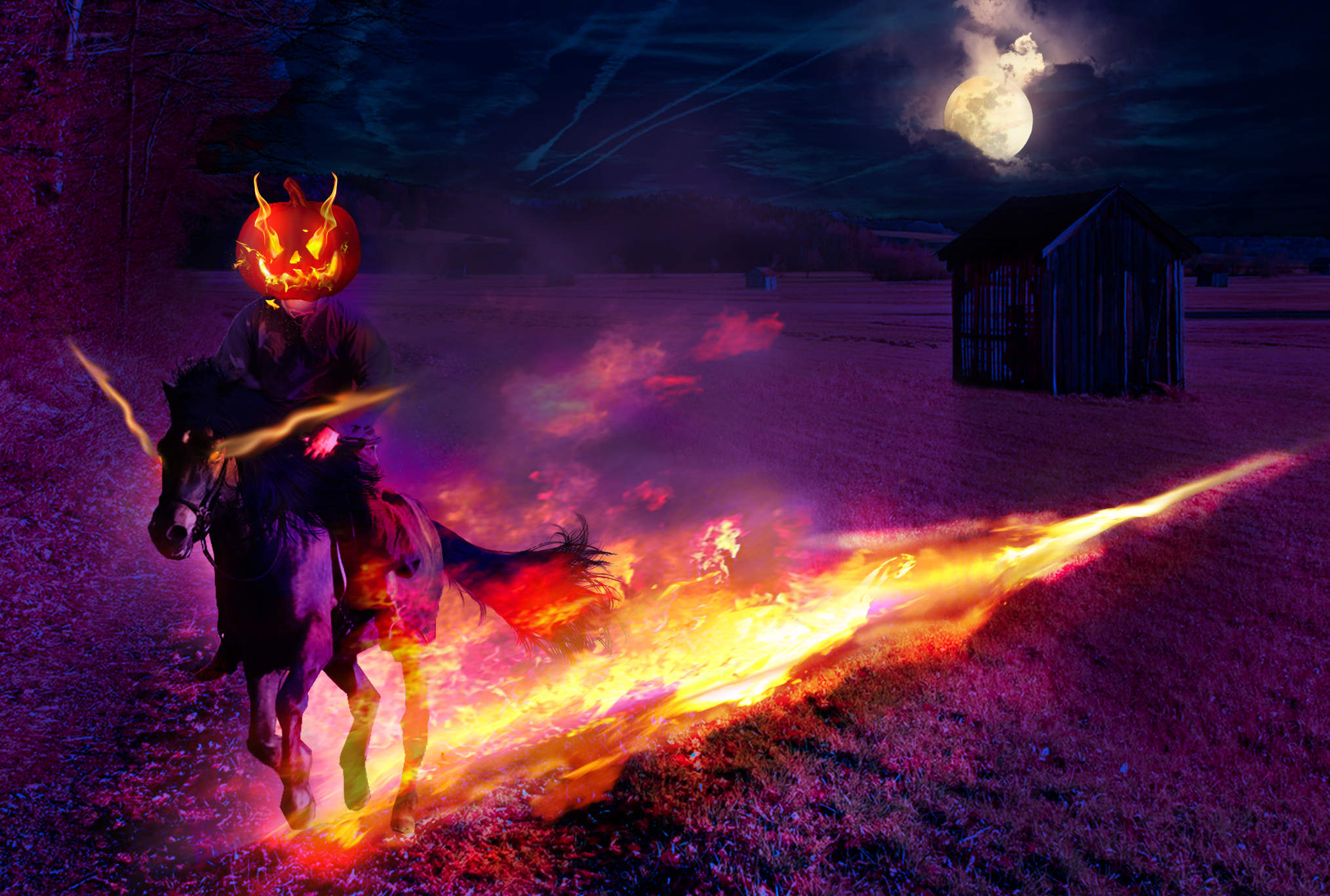 Headless Horseman by MeloCardio