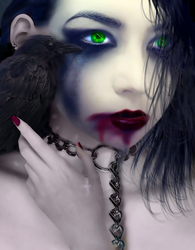Raven by SybilThorn
