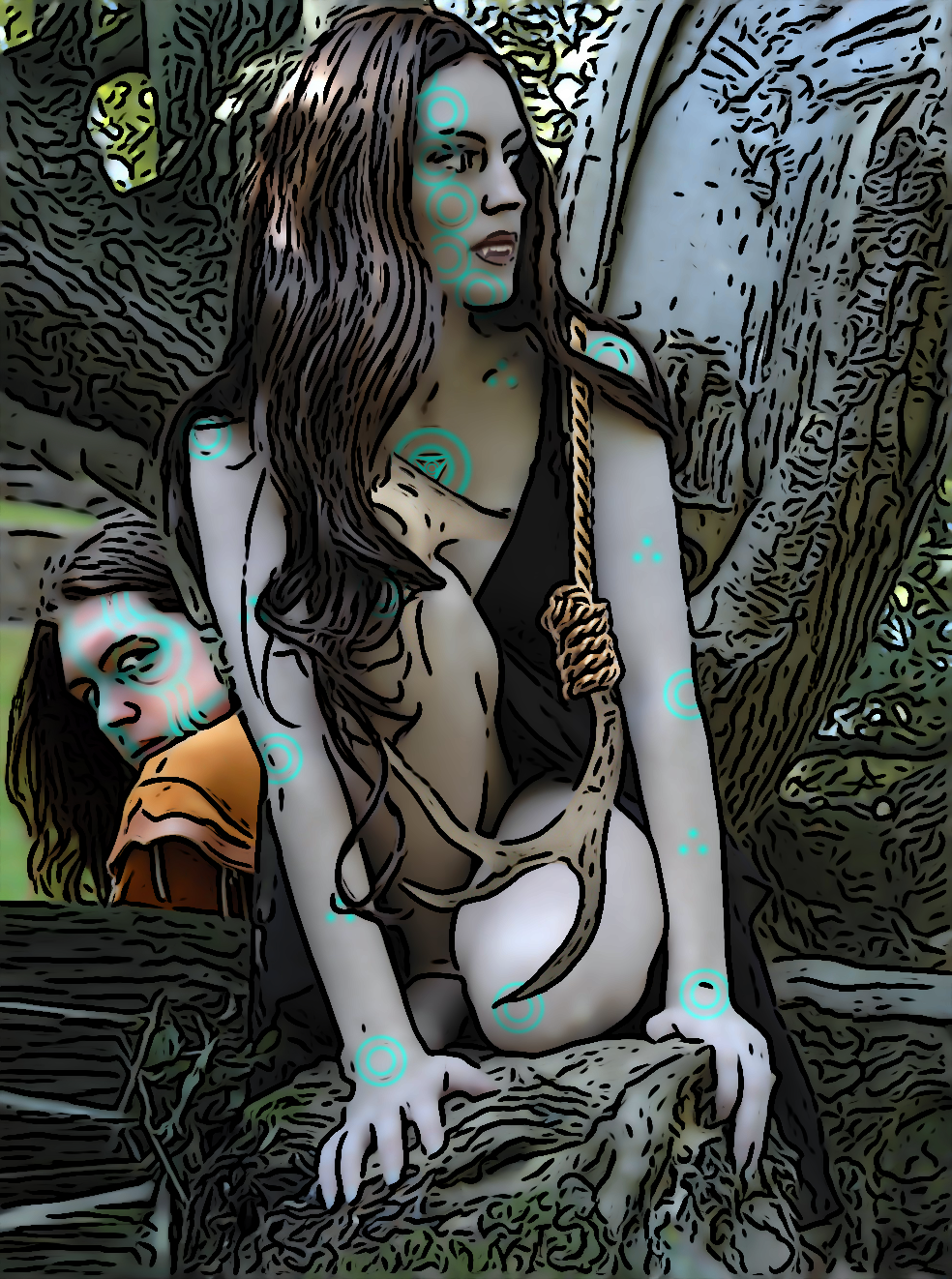 Alia and Roe by SybilThorn