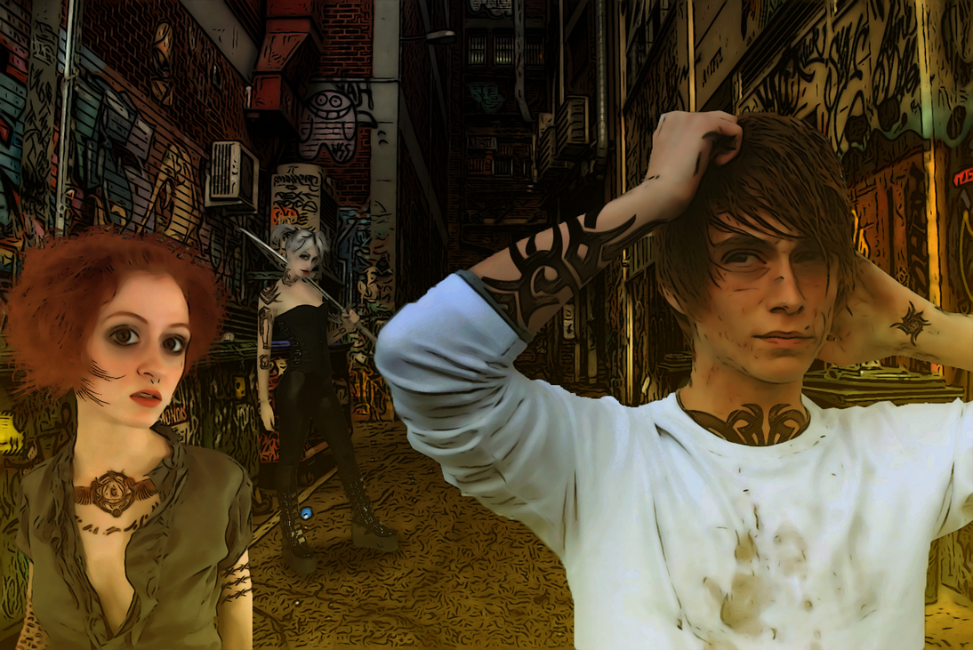 Apocalypse Alley by SybilThorn