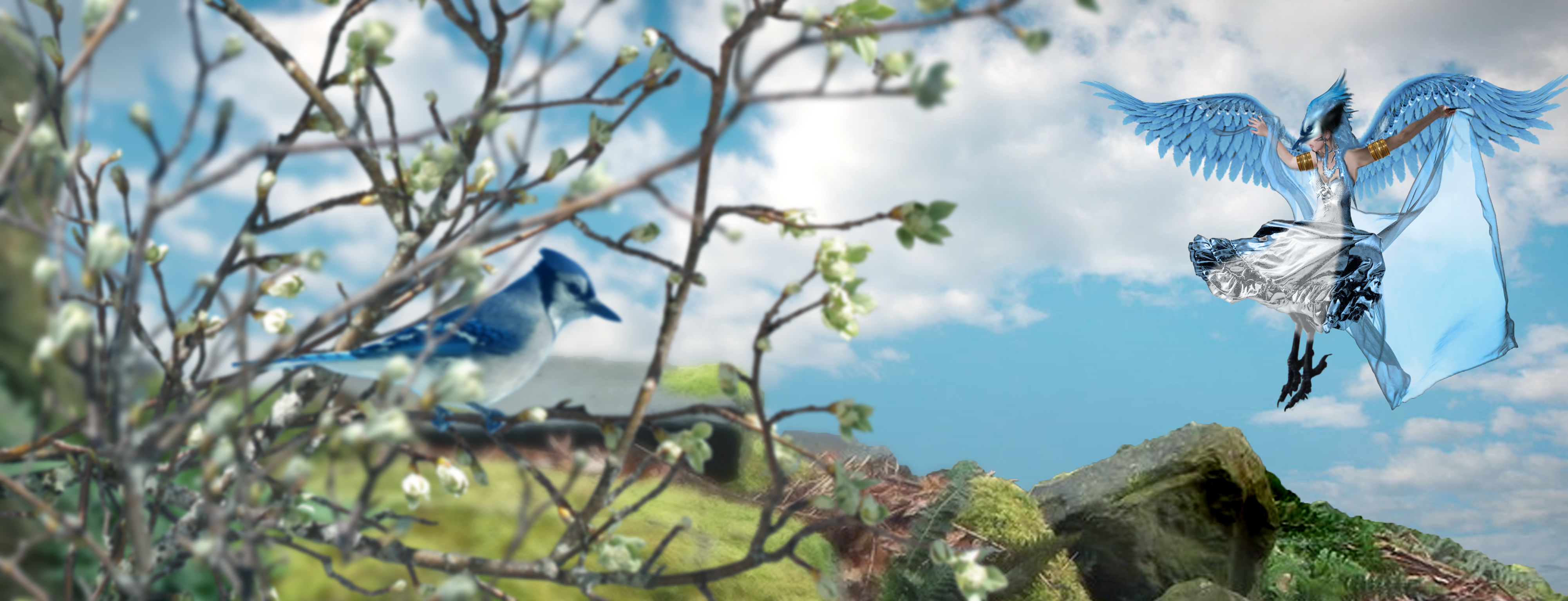 Spirit Of The Bluebird by SybilThorn