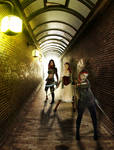 Secret Tunnels  - a Red Warriors illustration