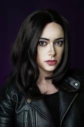 Jessica Jones makeup transformation