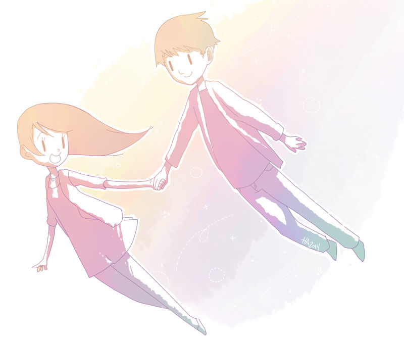 Fanart: Rachael and Jun x1 by TakaChee