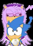 Reina Rose Meets Classic Sonic