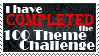 I have COMPLETED the 100 Theme Challenge by EratoTiaTuatha