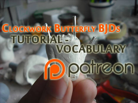 BJD making - vocabulary - VIDEO TUTORIAL