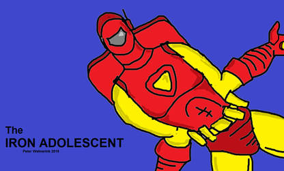 The Iron Adolescent red and yellow