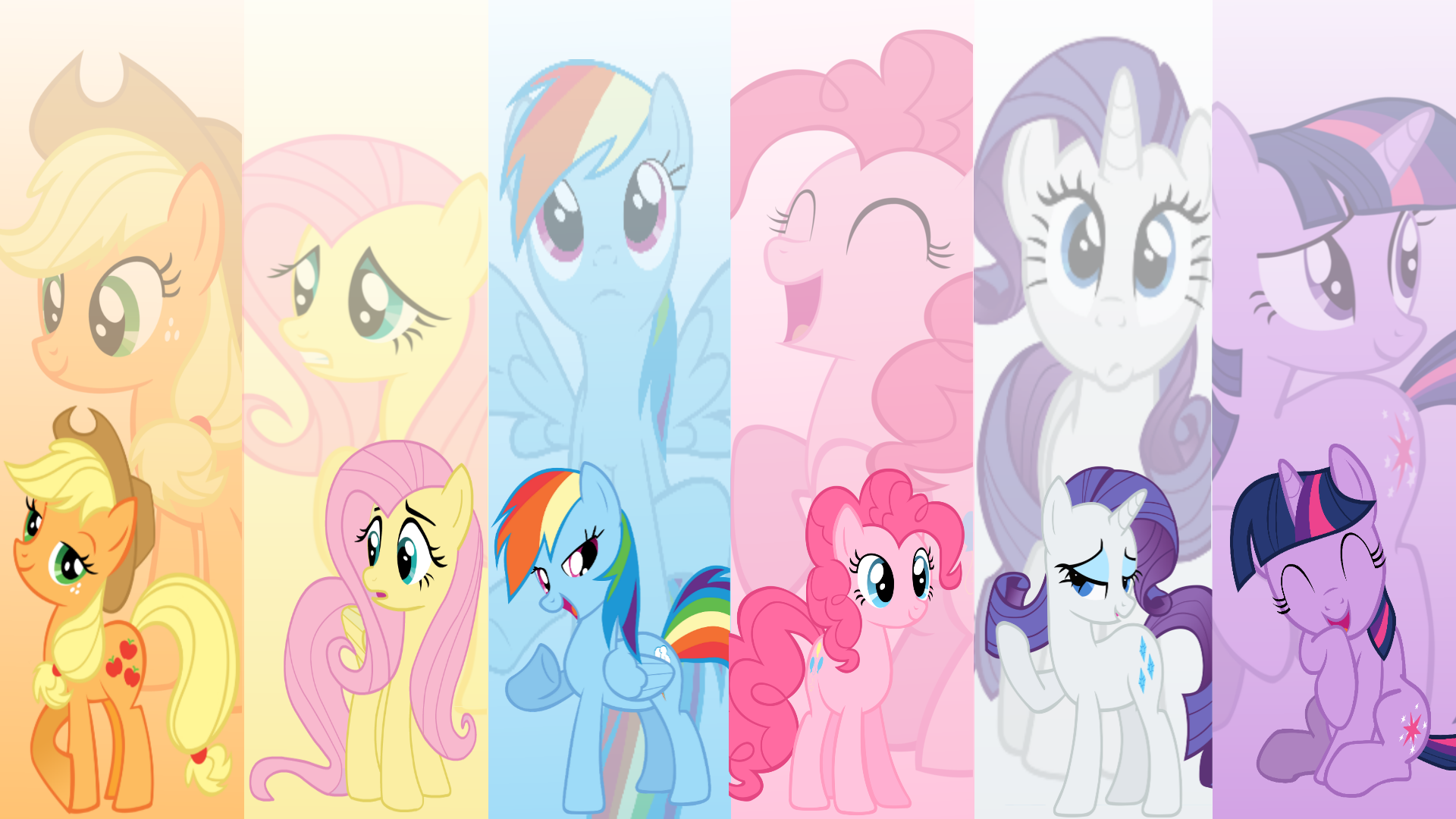 android mane 6 wallpaper - photo #26