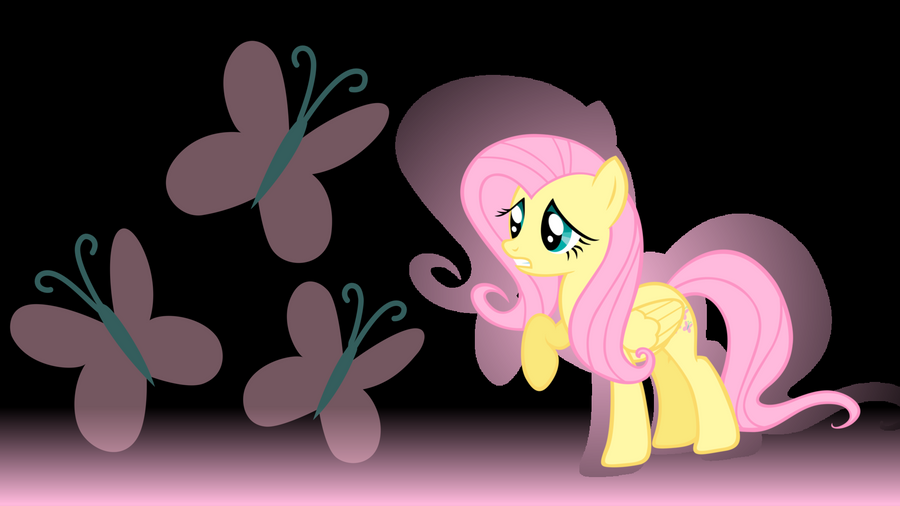 MLP Fluttershy Wallpaper by MLPwallpapermaker on deviantART