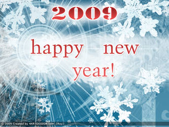 Happy New 2009 Year by Mister-LS