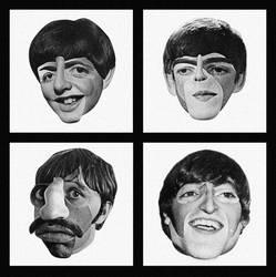 The Beatles by alchimisterie