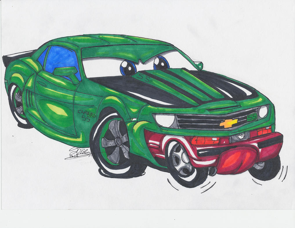 Hungry hungry camaro by Musaudi on DeviantArt