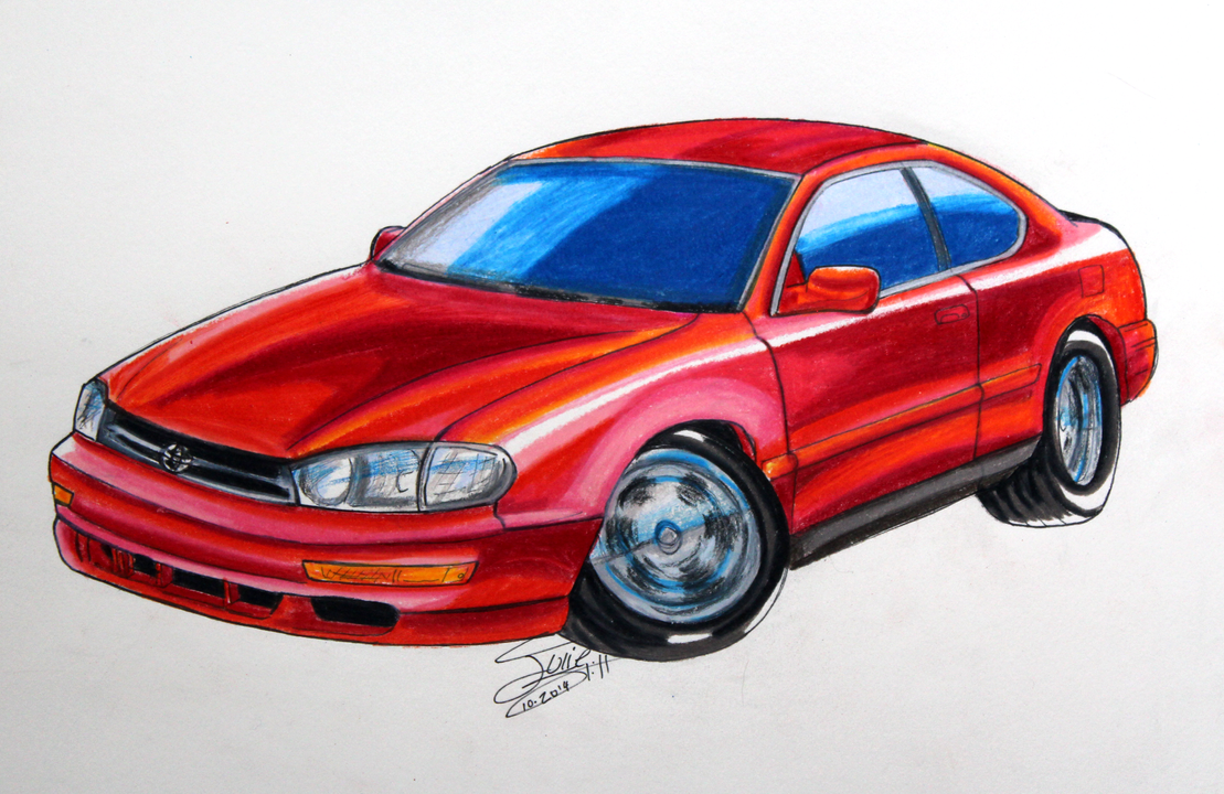 1994 Toyota Camry commission by Musaudi