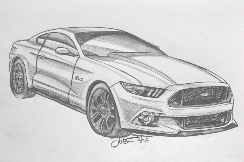 2015 Ford Mustang Gt By Musaudi On Deviantart