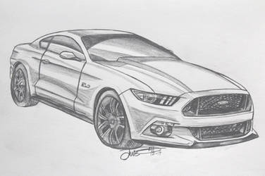 2015 Ford Mustang GT by Musaudi