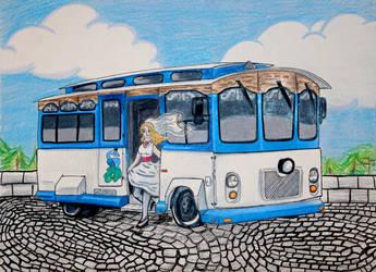 Wedding trolley by Musaudi