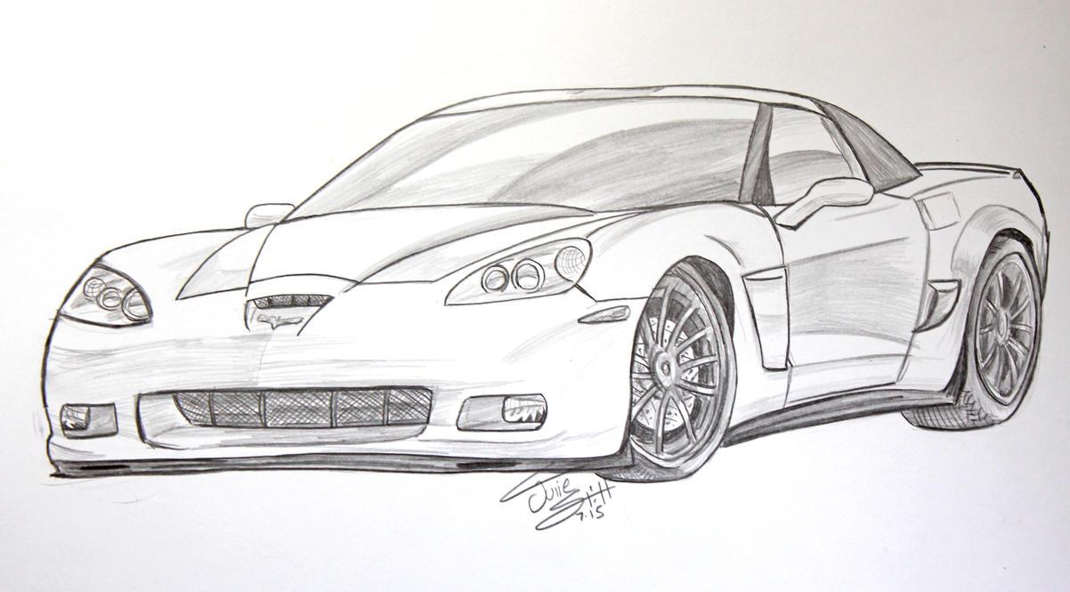Corvette commission by Musaudi