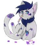 Kuii the cat Artist by Paitai