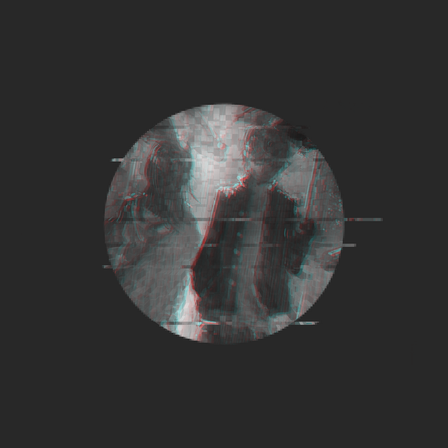 Holographic Rain by VinylDotRawr