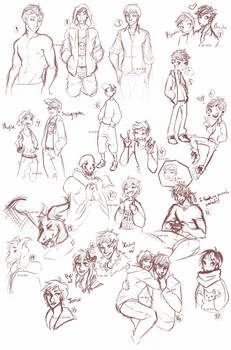 Doodles [Aug. 27 - Oct. 31st]